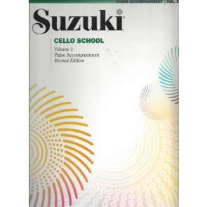 Suzuki Cello School - Volume 3 - Piano